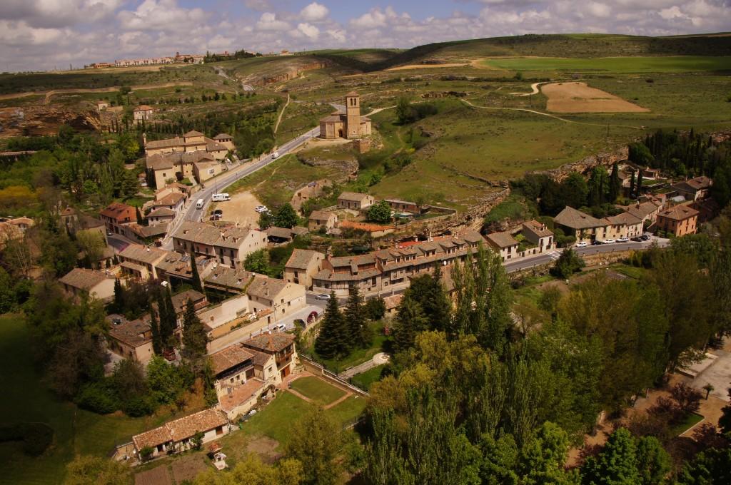 Вид с замка Алькасар