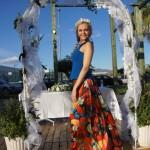 Фруктово-ягодная юбка