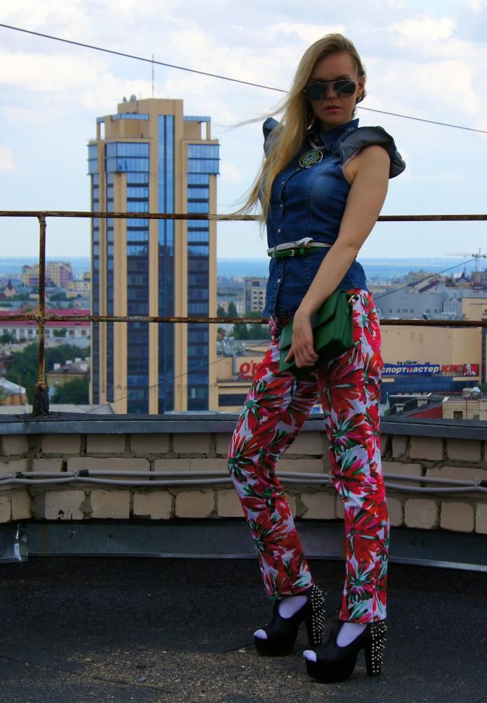 Вид на Галерею Чижова, Воронеж