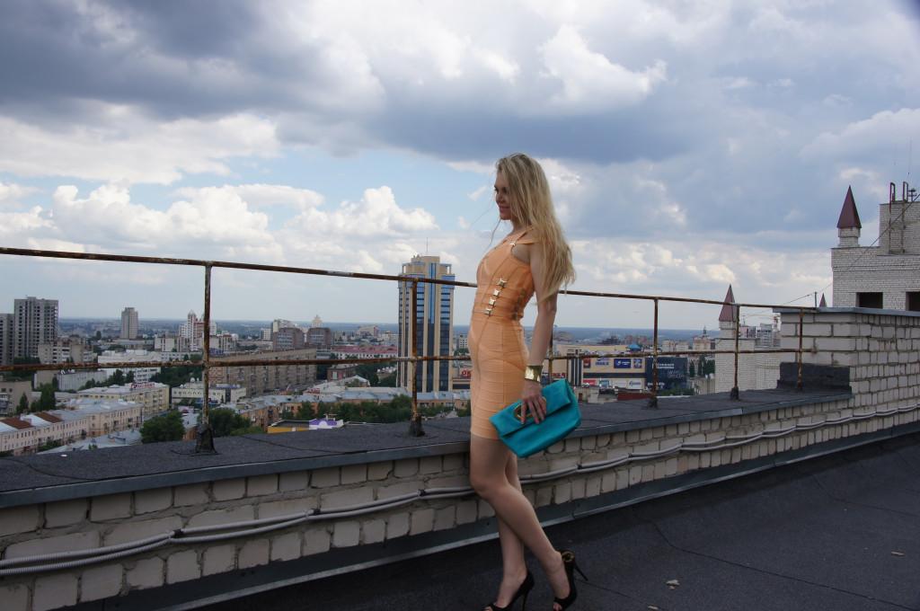 Вид на Воронеж с крыши