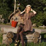 Русский стиль с налетом ретро