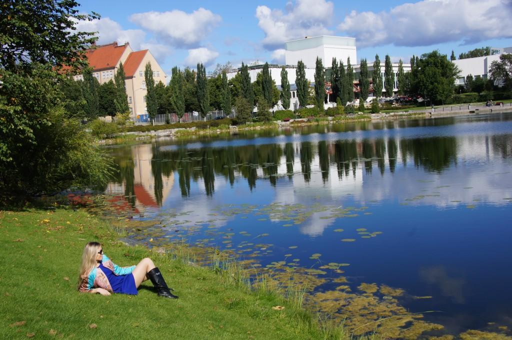 Куопио - озерный край!