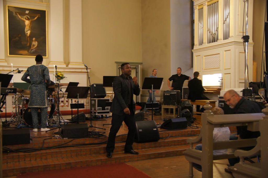 Концерт в лютеранской церкви