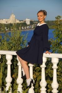 Ежевичное платье Asos