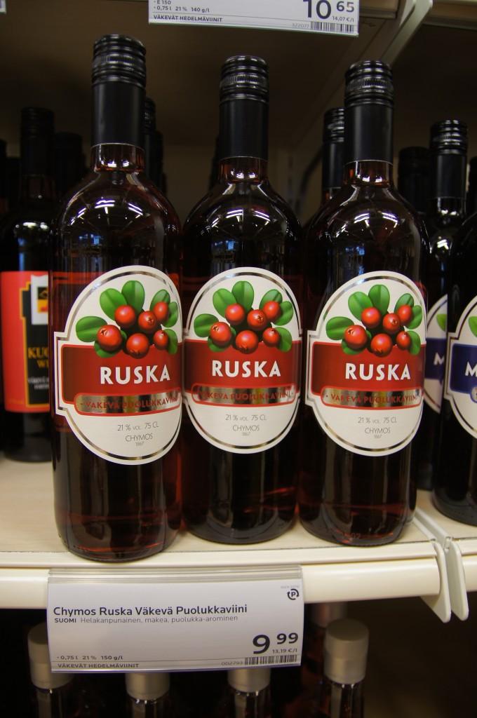 Вино из княженики