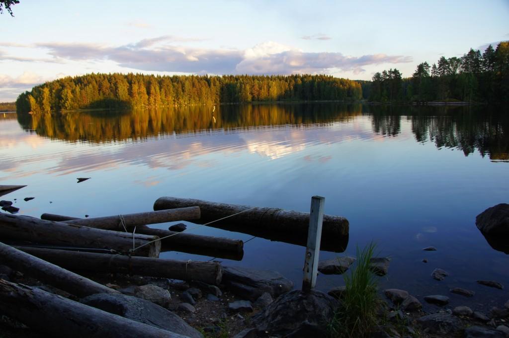 Озеро Каллавеси, Финляндия