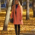 Тренд оранжевый + фиолетовый в одежде