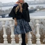 Меховая юбка