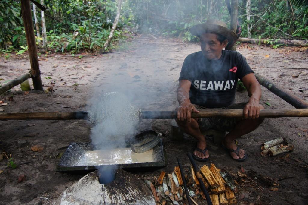 Местные жители Амазонки