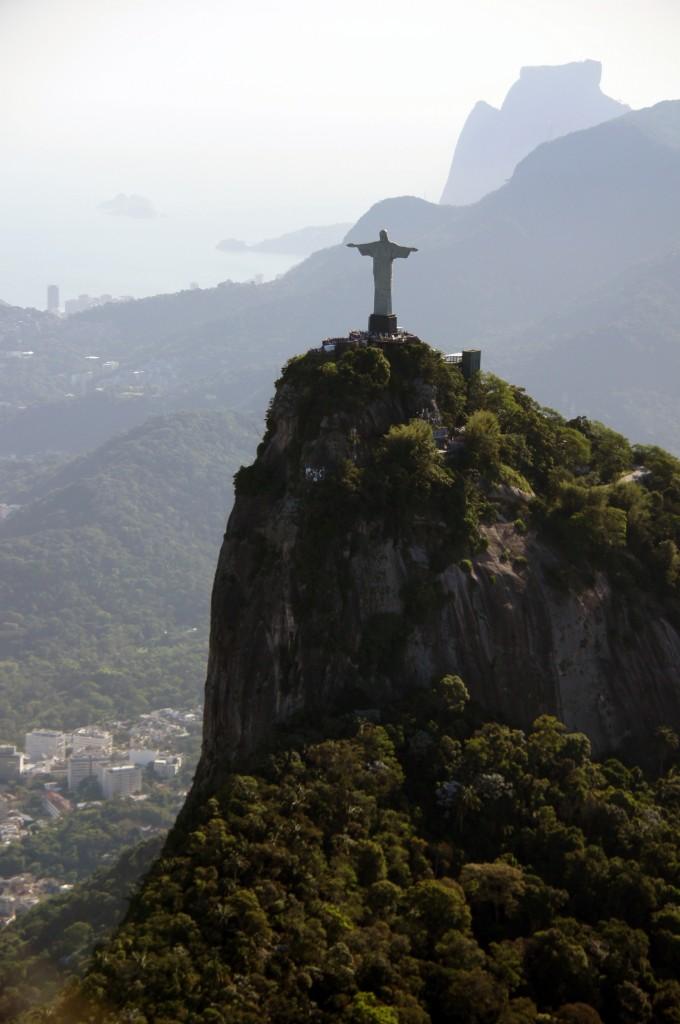 Гора Корковаду и статуя Христа, Рио
