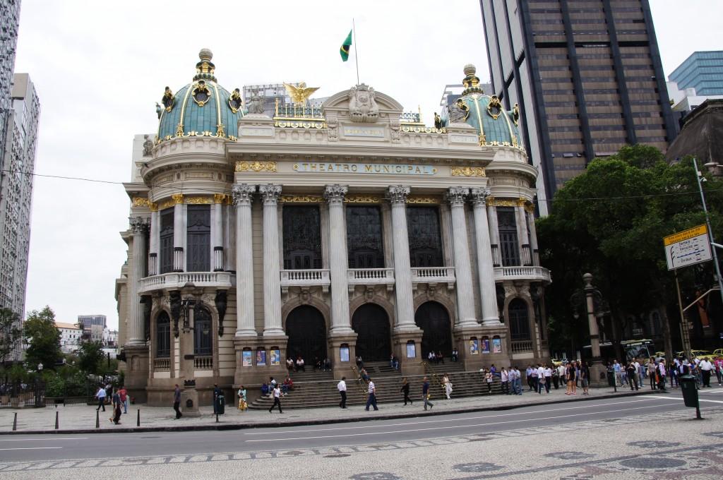 Муниципальный театр в Рио-де-Жанейро