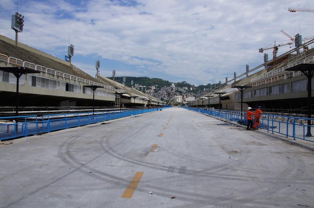 Самбадром в Рио
