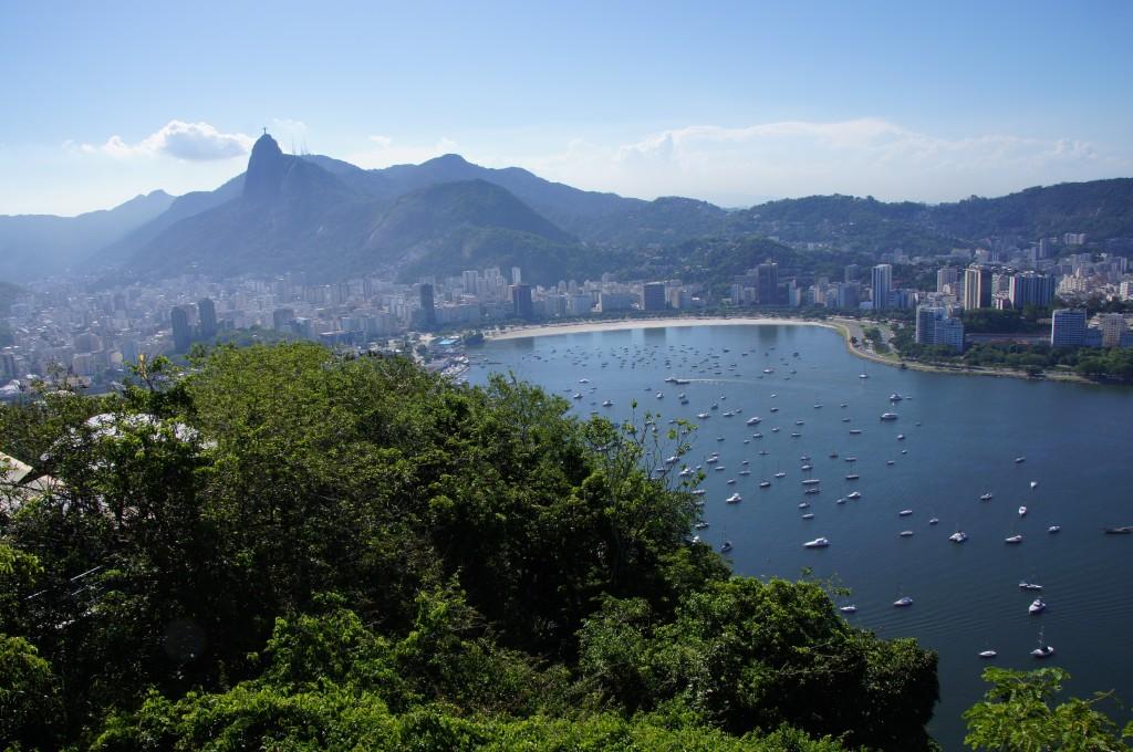 Вид с горы Урку, Рио