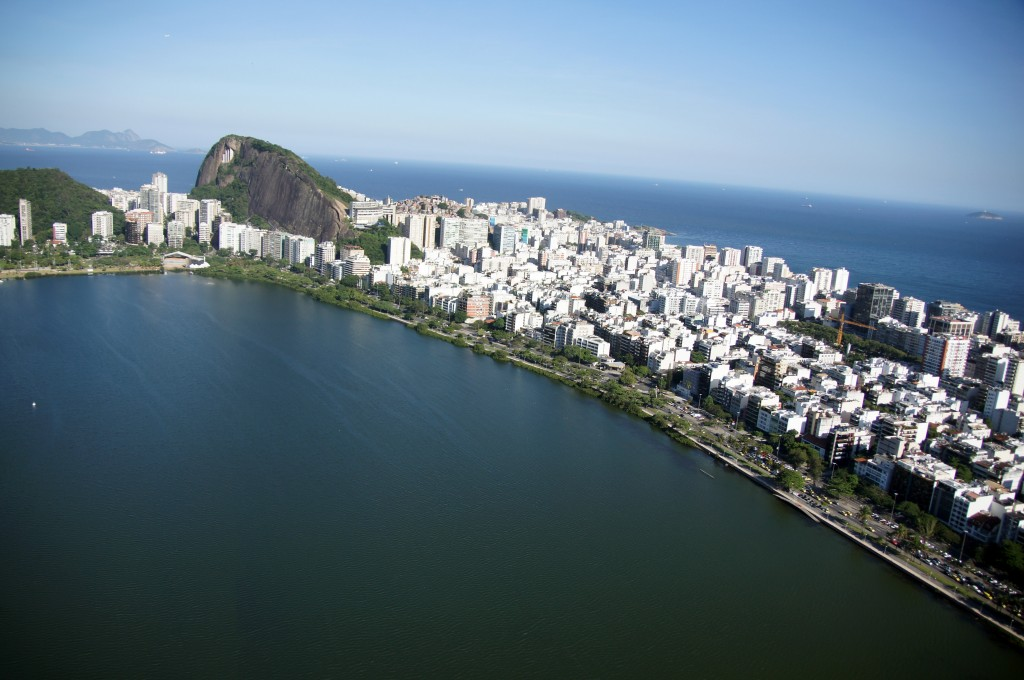 Рио с вертолёта