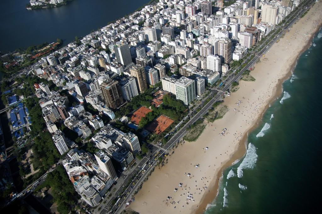 Пролетаем над Копакабаной, Рио
