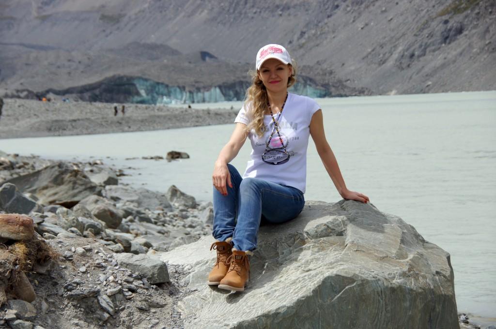 Нетающий ледник, Новая Зеландия