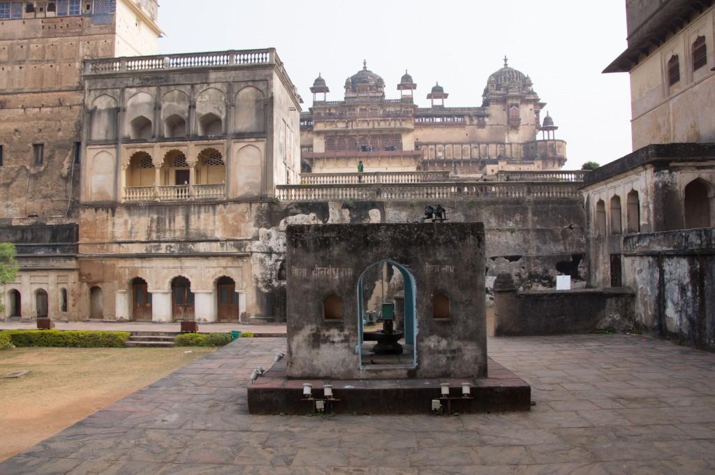 Форт Джанси, Индия