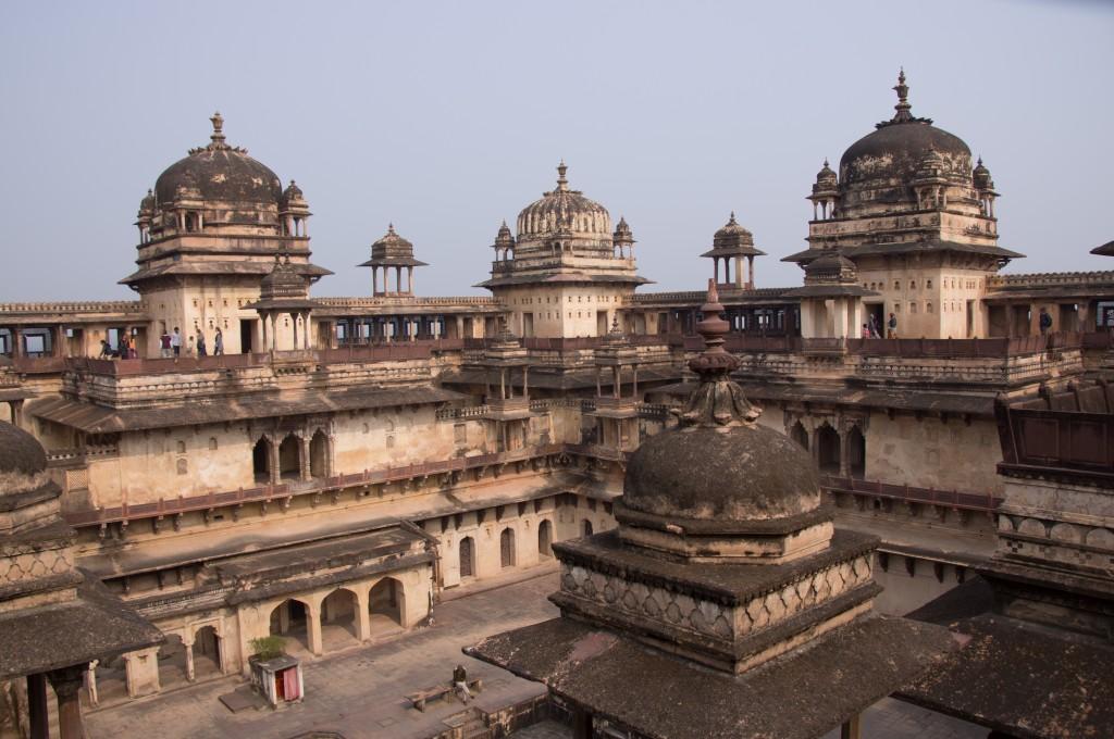 Дворцы Орчхи, Индия