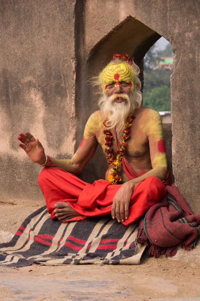 индуистский монах-отшельник садху, Индия