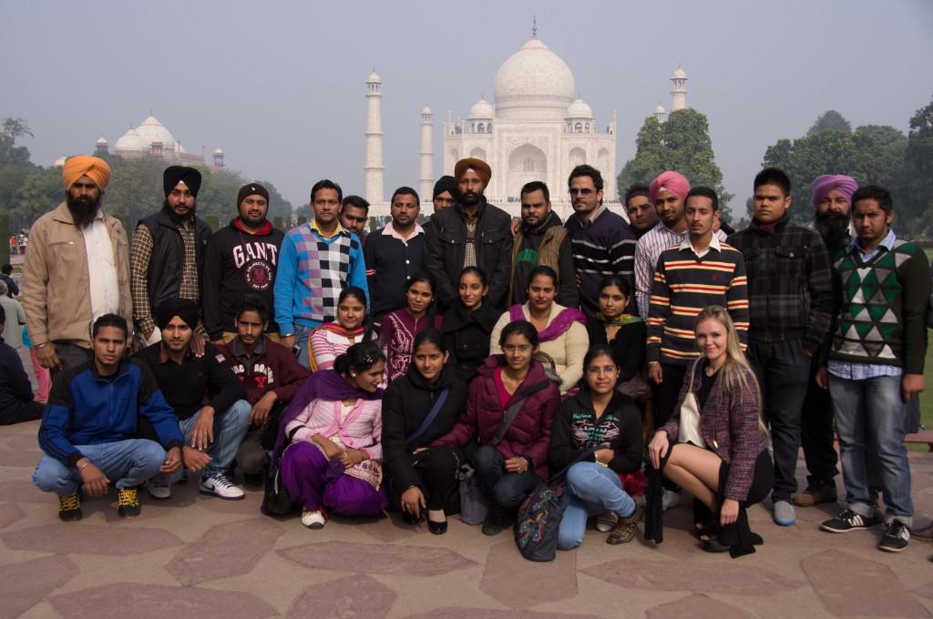 Фотосессия с местными жителями