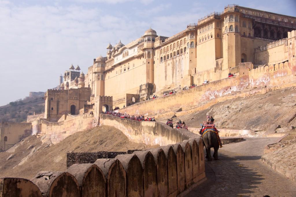 Форт Амбер, Индия