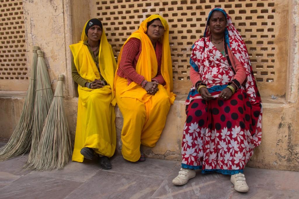 местные жители, Индия