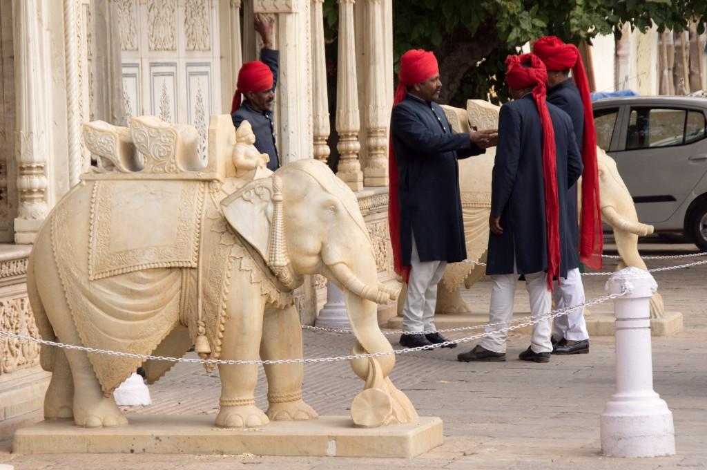 Городской дворец-музей в Джайпуре