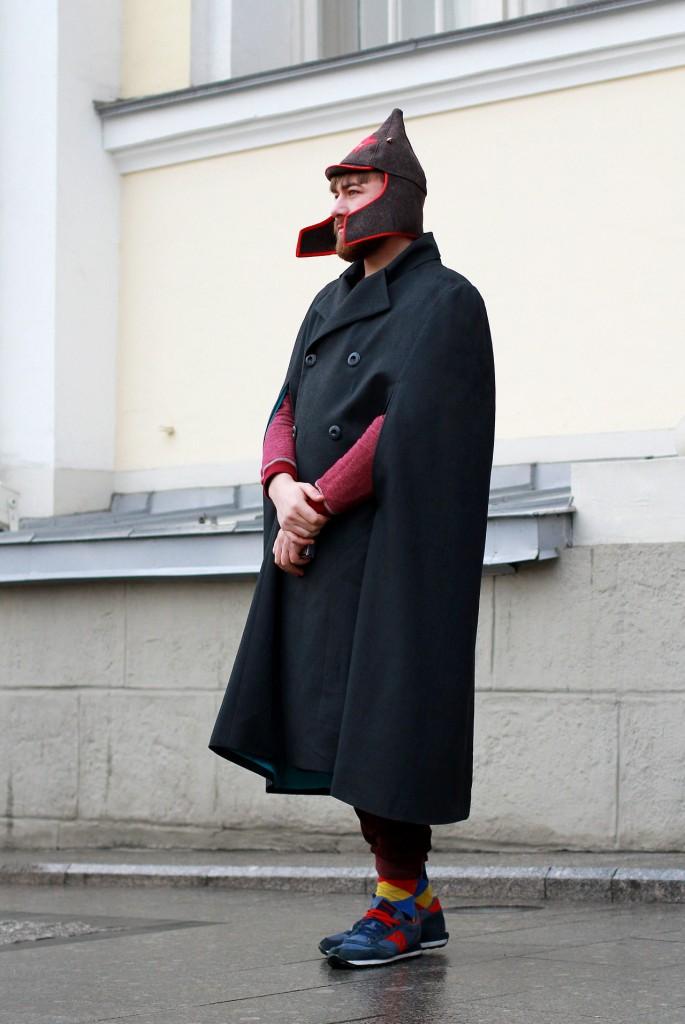 Уличный стиль MBFW Russia 2014