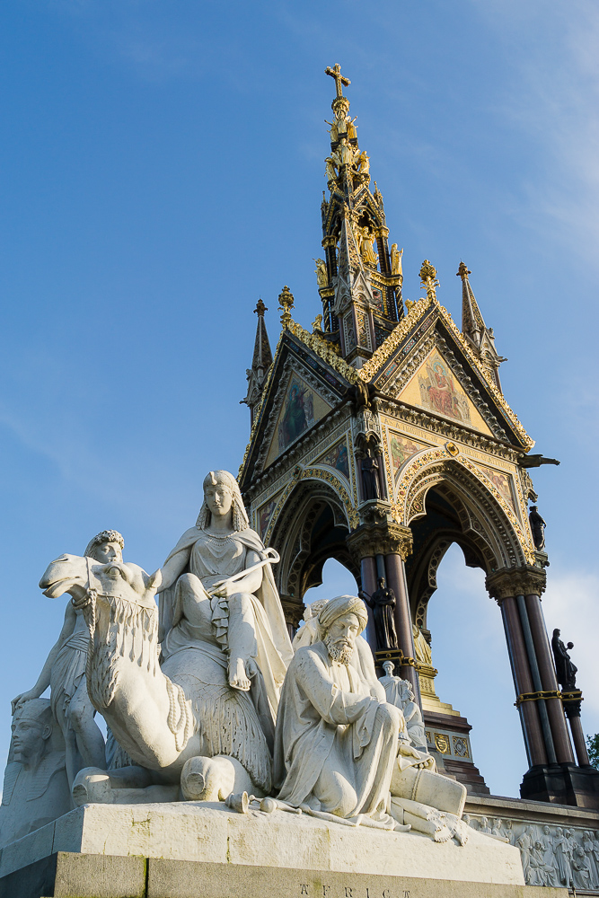 Мемориал принца Альберта в Кенсингтонском парке, Лондон
