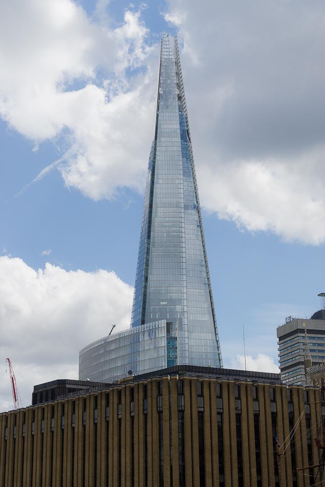 Круиз по Темзе,  башня Shard (Осколок)