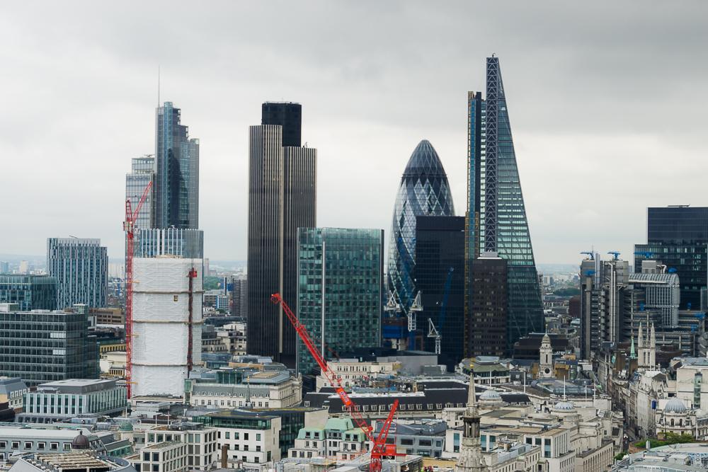 Вид на Лондон с собора Св. Павла
