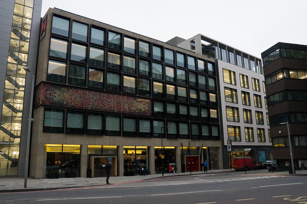 Отель CityzenM, Лондон