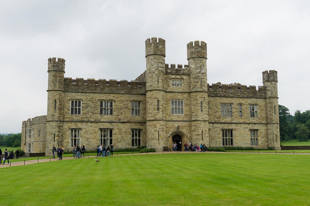 Замок Лидс, Англия