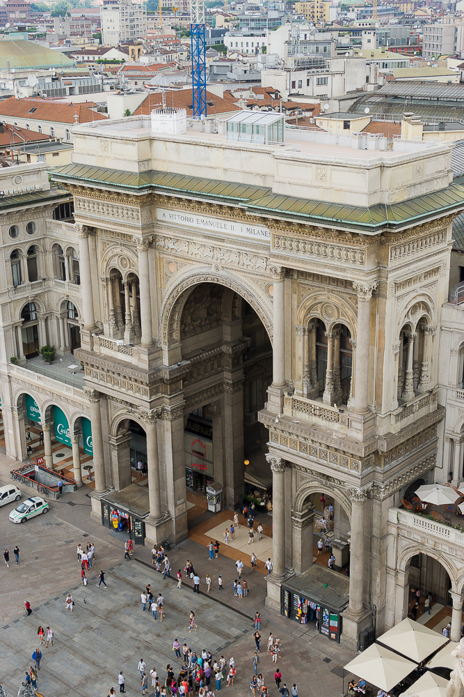 Торговая галерея Витторио Эмануэле, Милан