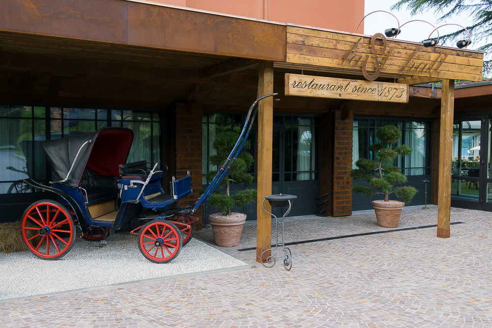 Ресторан Last Hall, Grand Hotel Dino 4*, Бавено