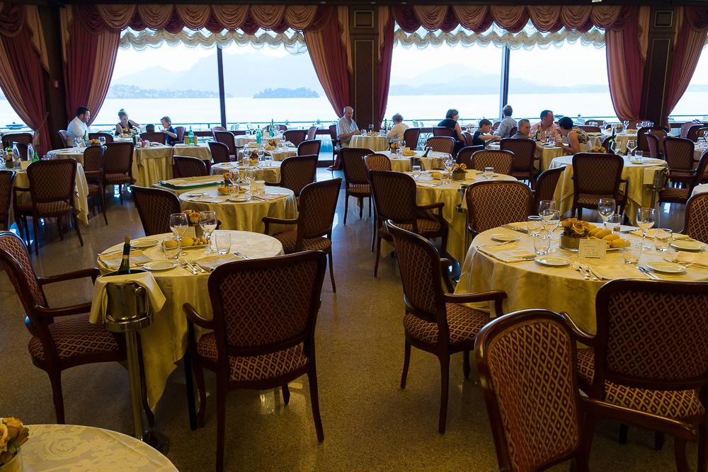 Ресторан отеля Grand Hotel Dino 4*, Бавено