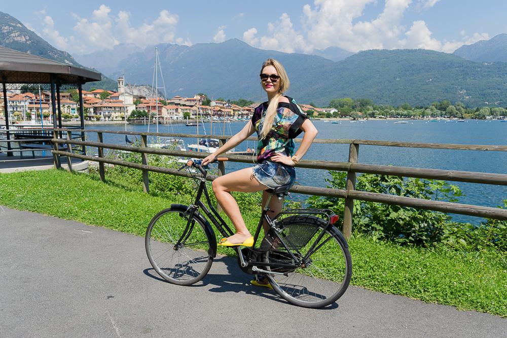 Велосипедная прогулка вокруг озера Маджоре
