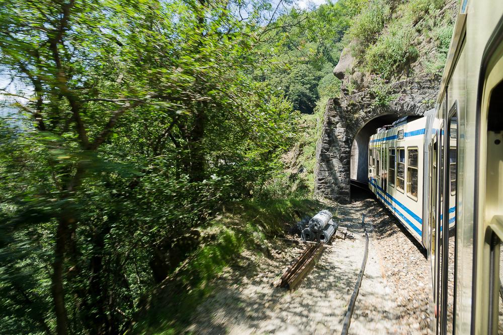 Поезд в Локарно