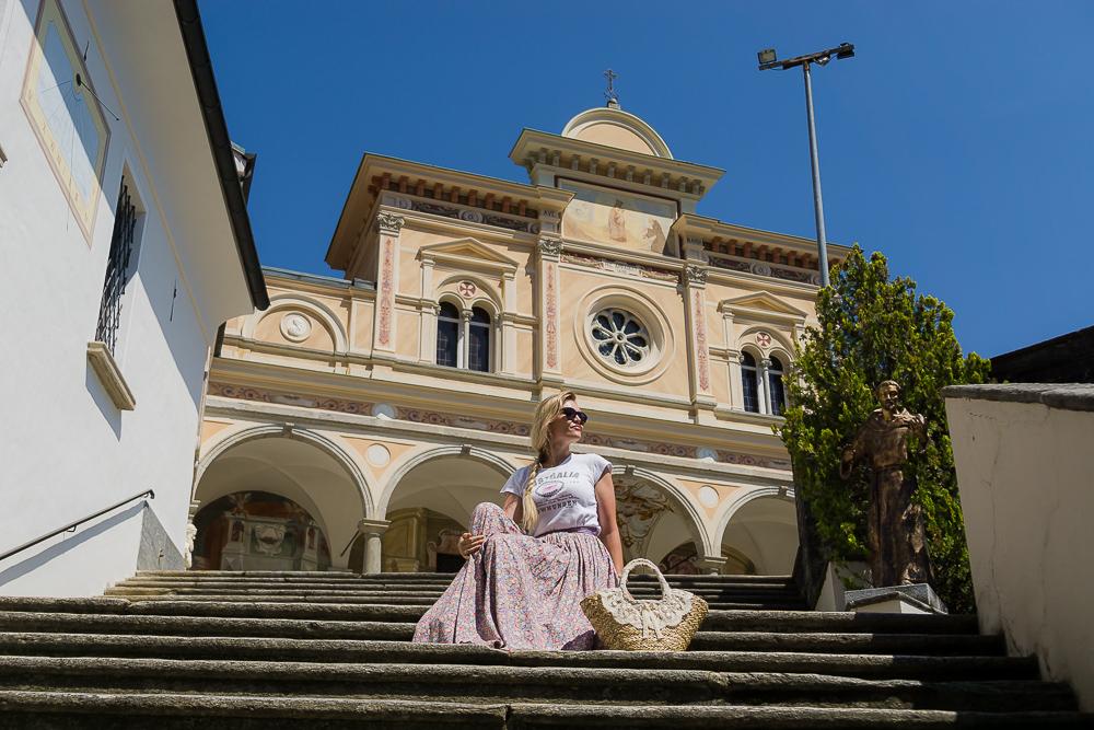 Монастырь Мадонны дель Сассо, Локарно