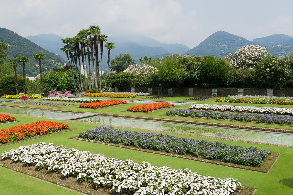 Ботанический сад Villa Taranto, Вербания