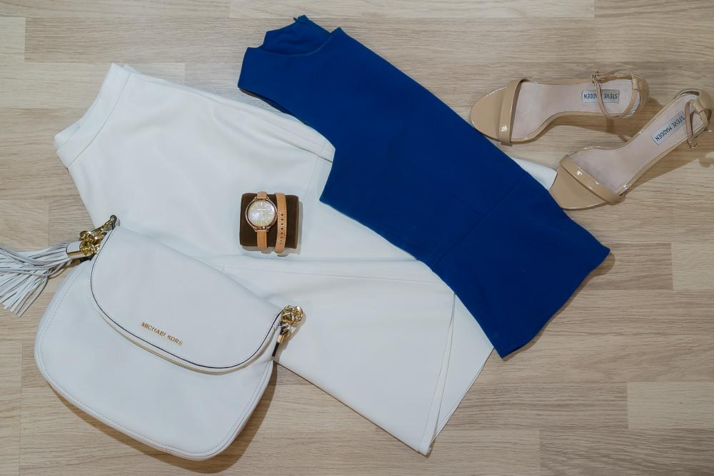 Белая юбка Zara из экокожи
