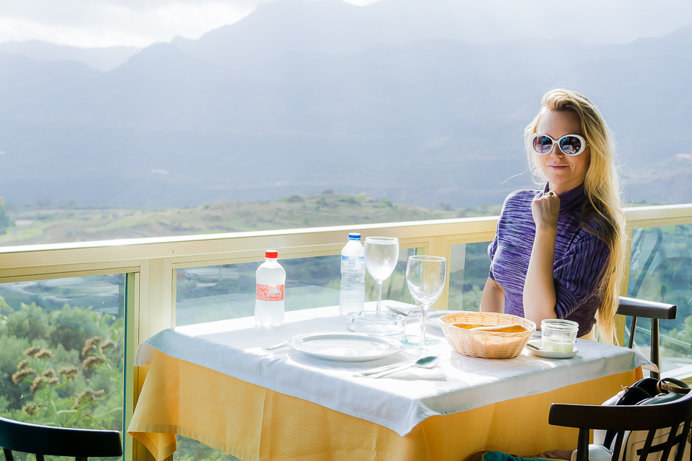 Панорамный ресторан, Гран-Канария