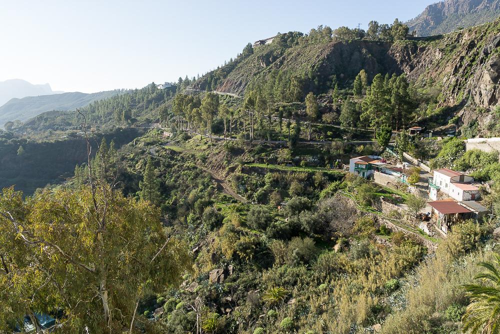 Вид с обзорной площадки Mirador de la Orilla