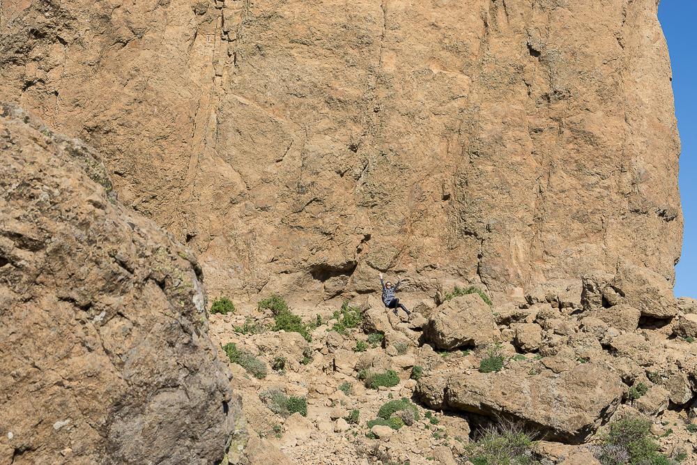 скала Roque Nublo