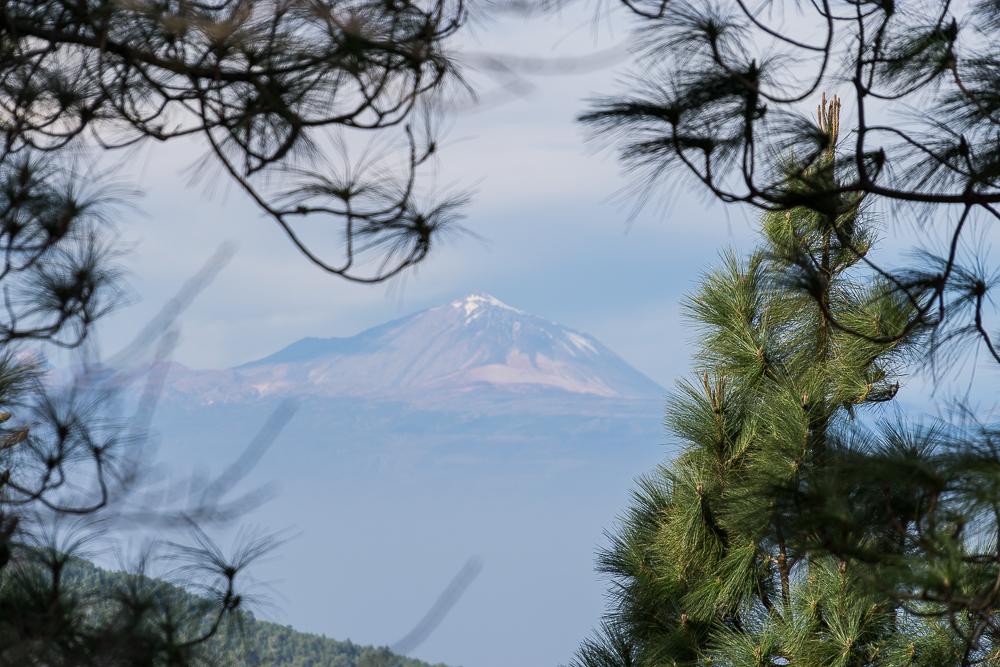 вулкан Тейде на соседнем Тенерифе