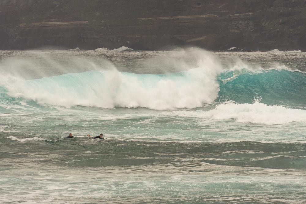 волны Атлантики на севере Тенерифе