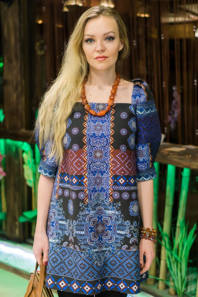 Платье в русском стиле Меховица