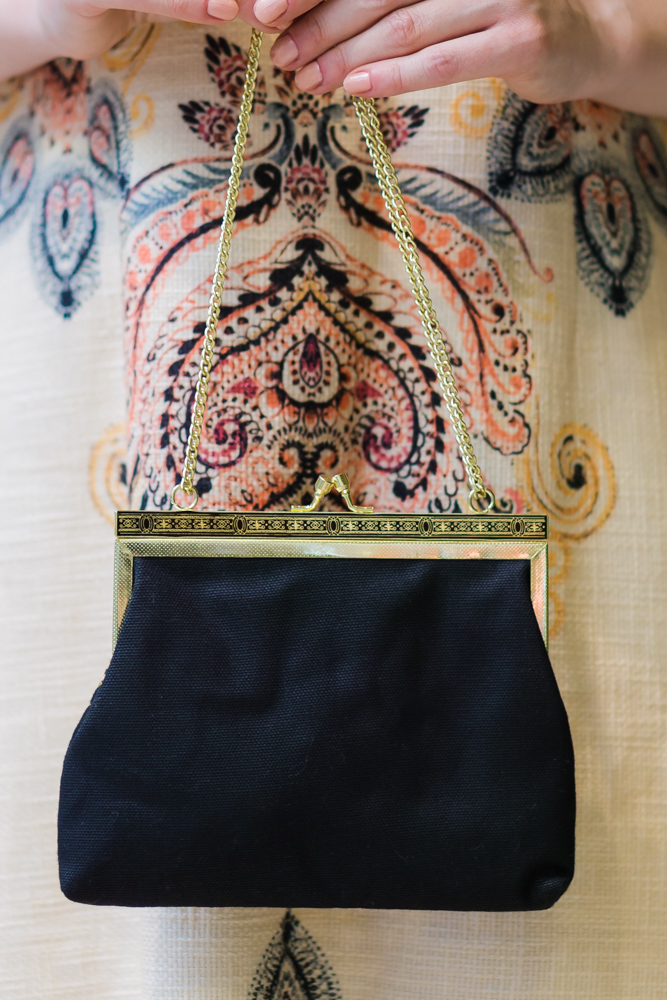 Клатч в винтажном стиле