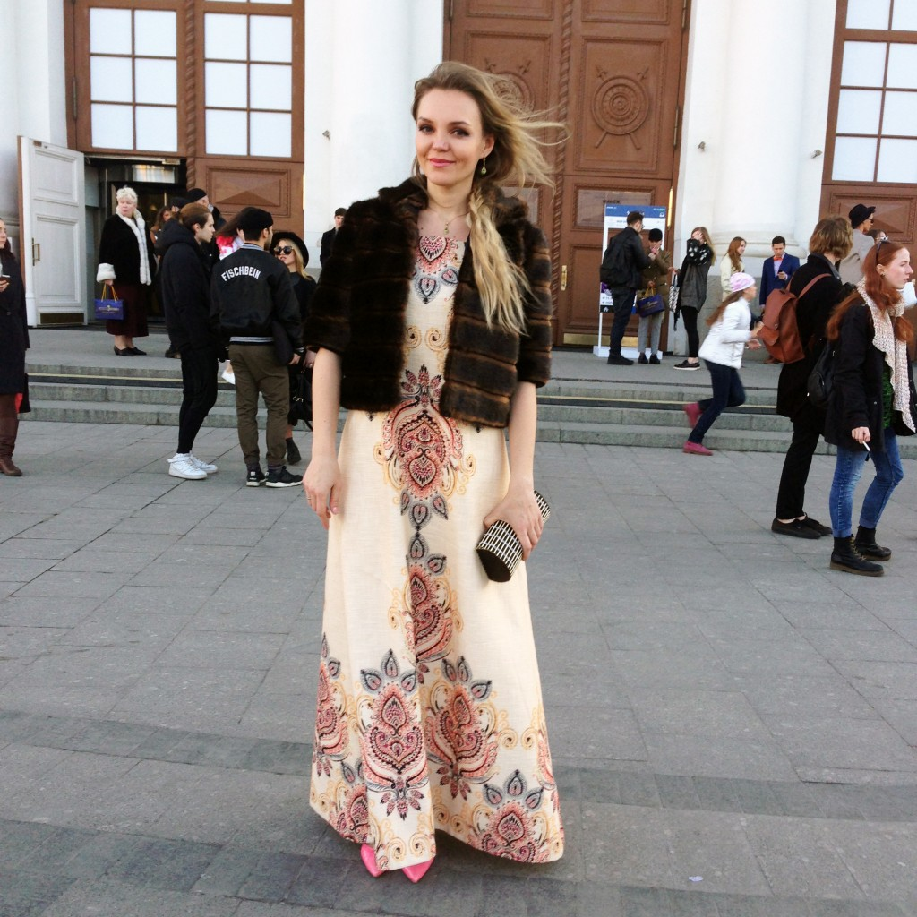 Street style, MBFW Russia