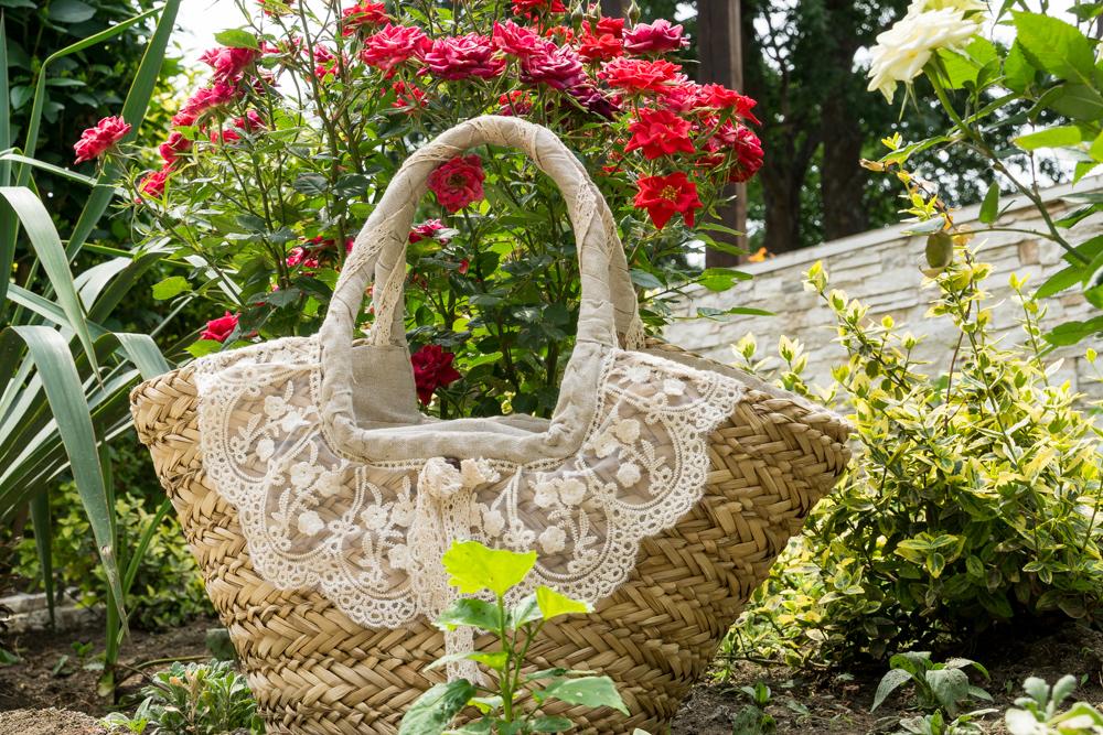 Плетеная корзинка - тренд лета 2015